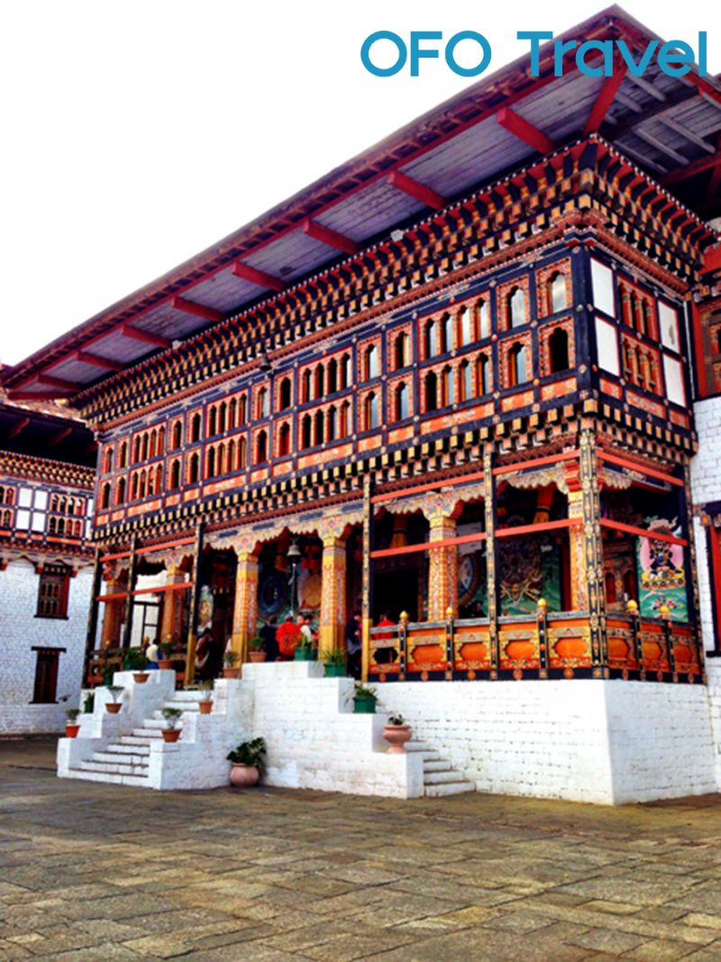 OFO Travel-Tour Khám Phá Vương Quốc Bhutan-Day 2-Buddhist Shrine at Tashichho Dzong